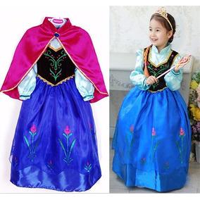 Disfraz De Ana Anna Frozen Talla 10