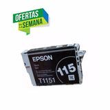 Cartucho Epson 115 T1151 Original Color Negro Oferta!
