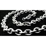 Cordão/colar/corrente Quadrado Cadeado Aço Inox Grossa