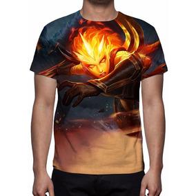 Camisa, Camiseta League Of Legends - Diana Infernal
