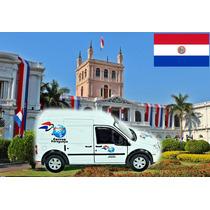 Ford Transit Correos Paraguay 1/43 Correios Do Mundo