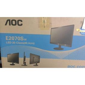 Monitor Lcd Marca Aoc Modelo E2070sw 20