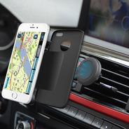 Soporte 360º Para Coche Celular Auto Magnético · Ultra Firme