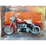 Miniatura Moto Harley-davidson 1962flh Duo Glide Maisto 1:18