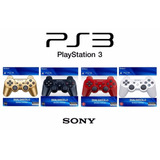 Control Playstation 3 Ps3 Dualshock Inalambrico Sony Bluetoo