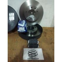 Kit Disco + Pastilha Freio Traseiro Renault Master Até 2012