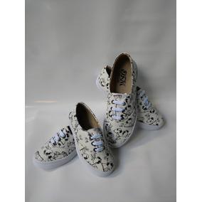 Combo De Moda Snoopy 2 Pares Zapatos Mama E Hijas O Hermanas