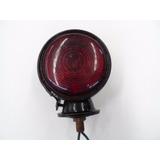 Pisca Seta Lanterna Paralama Caminhão Antigo Vermelho Menor