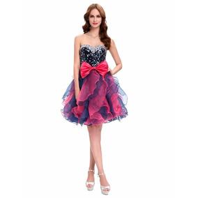 Vestido De Debutante Preto 34 36 38 40 42 44 46 48 - Vg00363