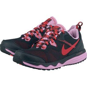Nike W Dual Fusion Trail Negra Mujer Trekking Running 652869