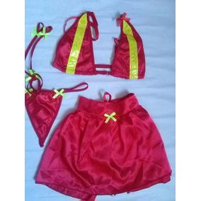 Disfraz Sexy Para Damas (bombera)