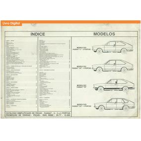 Catálogo Peças Volkswagen Passat Ts L Ls 1973 - 1978