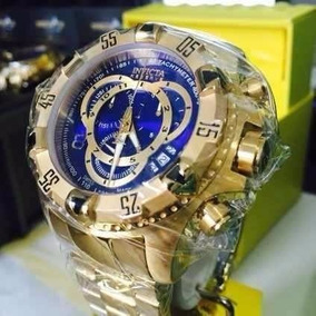 Relógio Invicta 6471 Excursion Reserve Fundo Azul Lindo Top