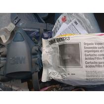 Mascarilla Respirador 3 M 7502 Cartuchos Incluidos!!
