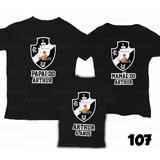 Lembrança De Aniversário Vasco Time Camiseta Kit Com 3