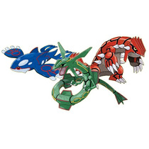 Trio Lendário Pokemon Mc Donalds Groudon - Kyogre - Rayquaza