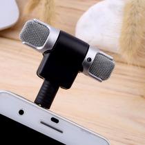 Mini Microfone Estéreo Sem Fio Celular Cameras Gravador