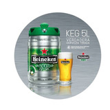 Barril Cerveza Heineken Importada De Holanda 5 Litros!