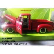 Chevrolet Pick Up 1953, Carro A Escala 1/24 De Coleccion