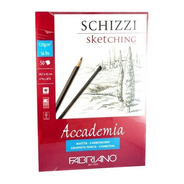 Block Fabriano Accademia Sketching 120gm 29.7x42cm 30 Hojas