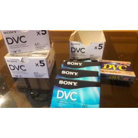 Cassette De Video Digital Mini Dv Dvc 60 Minutos Sony Dvm60p