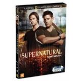 Dvd Supernatural - Oitava Temporada (6 Dvds)