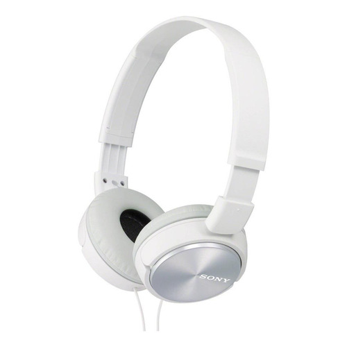 Audífonos Sony ZX Series MDR-ZX310AP white