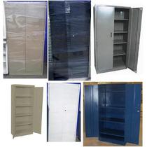 Librero Metalico Reforzado Anaquel Con Puertas Almacenar