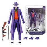 The Joker Icons Series Dc Collectibles Figura Muñeco Guason
