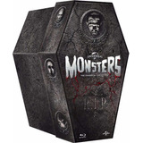 Blu-ray Universal Classic Monsters Collection Coffin 8 Films