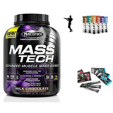 Mass Tech Proteina 7lb Muscletech Masa Muscular + Regalo
