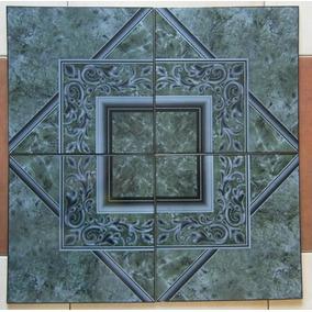 Ceramica Piso Huilian Verde 33 X 33 1ra Los Aromos X Caja
