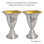 Floreros O Jarrones 30 Cm (par) Iglesia O Capilla