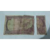 Billete Antiguo De Cincuenta Pesos Oro Colombianos