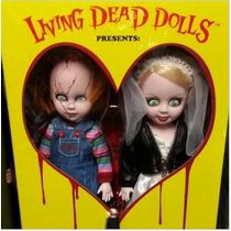 Chucky E Sua Noiva - Importado Mezco - Sob Encomenda