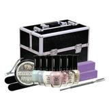Kit De Manicure Completo Con Maleta