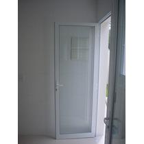 Porta De Vidro Pronta Para Chumbar 800x2100 Vidro Verde