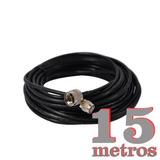 Kit Cabo Rgc 58 Tnc N Macho 15m Dc-40 Antena Celular Rural
