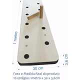 Peg Board Crossfit - 10 Estágios (1000 X 300 X 36mm)