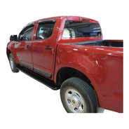 Estribos Aluminio Negro Reforzado Chevrolet  S10 2012+