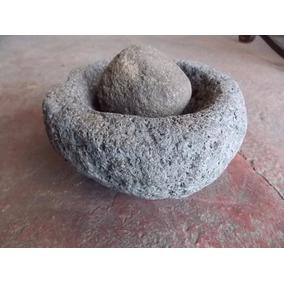 Antiguo Y Original Molcajete De Piedra. Muy Escaso.