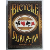 Naipes Bicycle Disruption Ed Limitada Magia Poker Coleccion