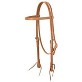 Weaver Leather Golden Brown Arnés De Cuero Browband