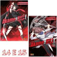 Akame Ga Kill 14 E 15! Mangá Panini! Novo E Lacrado!