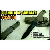 Cuchillo Tactico Militar Supervivencia De Combate
