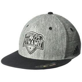 adidas Mls Houston Dynamo Men S Heathered Grey Tela Viser...