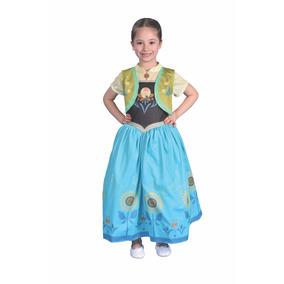 Disfraz Frozen Anna Fever Talle 2 Lic Original New Toys