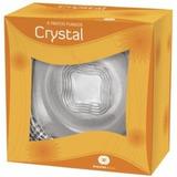 Prato Com 6 Pçs Crystal Wheaton Brasil Fundo