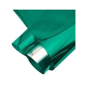 Pelicula Insulfilm Espelhado Verde 0,75x2,5m Frete Gratis