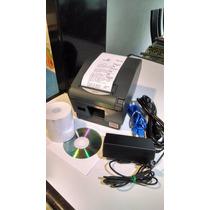 Impresora Termica Negra Oki 407 Ii Usb/cortador Automatico